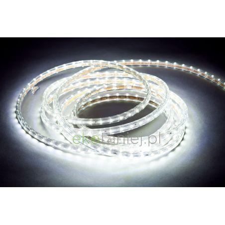 Taśma LED 230V, 60 diod 3528/metr, gumowy profil, wodoodporna IP68, 4.8W/mb