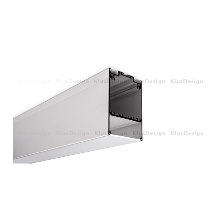 Profil LED DES, aluminium anodowane, profil podwieszany 1m