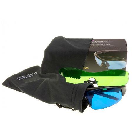 Okulary do pracy ze światłem Growy LED + HPS