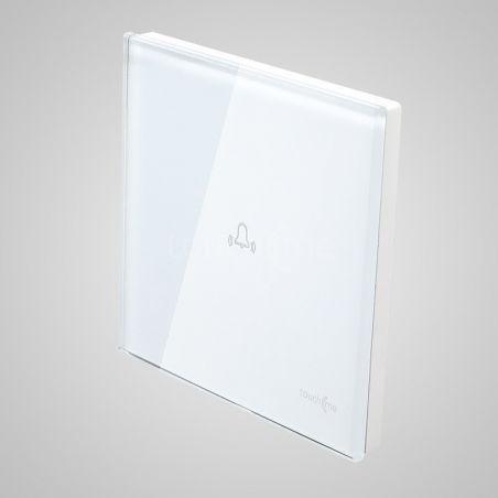 Panel dotykowy, duży, biały, dzwonek