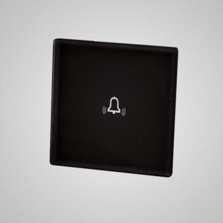Panel dotykowy,mały, czarny, dzwonek