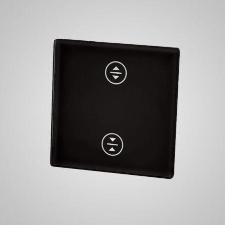 Panel dotykowy,mały, czarny, żaluzjowy