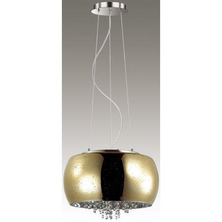 Lampa wisząca ELYSIUM 6x40W złoty