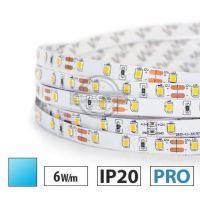 Taśma LED PRO 6W/m, 60xLED SMD 2835/m, IP20, niebieski, 1m