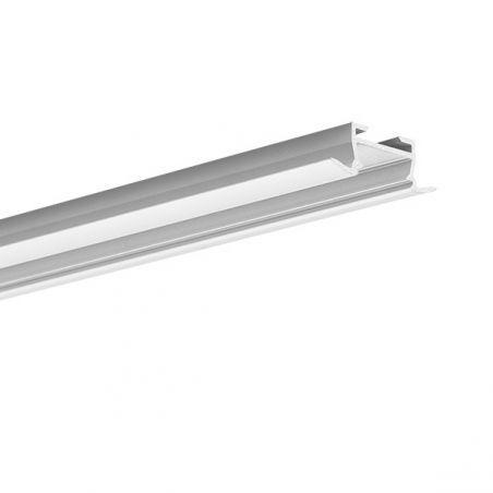 Profil LED TAKO, wpuszczany, aluminium anodowane