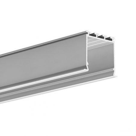 Profil LED LOKOM, wpuszczany, aluminium anodowane