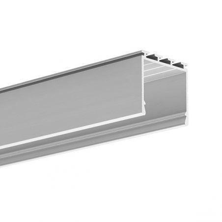 Profil LED LIPOD, natynkowy, aluminium anodowane