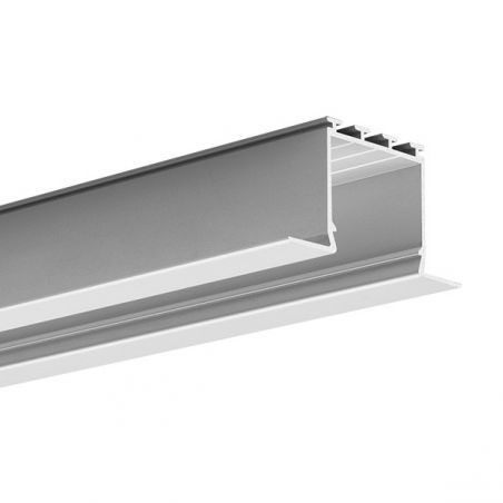 Profil LED LARKO, wpuszczany, aluminium anodowane