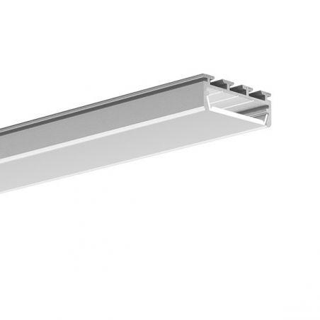 Profil LED GIZA, natynkowy, aluminium anodowane
