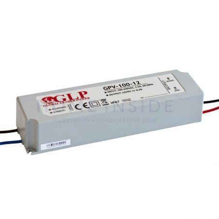 Zasilacz LED GPV-100-12 8,3A 100W 12V IP67