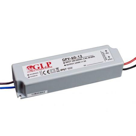 Zasilacz LED GPV-60-12 5A 60W 12V
