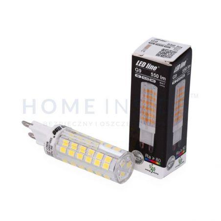 LED line G9 220-240V 6W 550lm 6000K