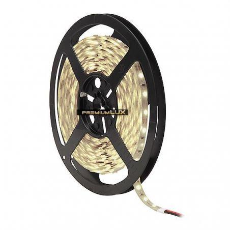 Taśma LED PRO 6W/m, 60xLED SMD 2835/m, IP65, biały ciepły, 1m