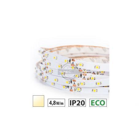 Taśma LED ECO 4,8W/m, 300LED SMD 3528/m, IP63, biały ciepły, 5m