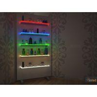 Półka podświetlana LED 120x20x0,8cm