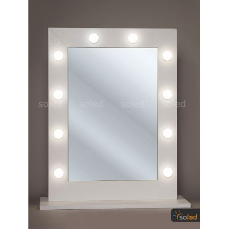 Lustro do makijażu LED Make Up Stand 80x60