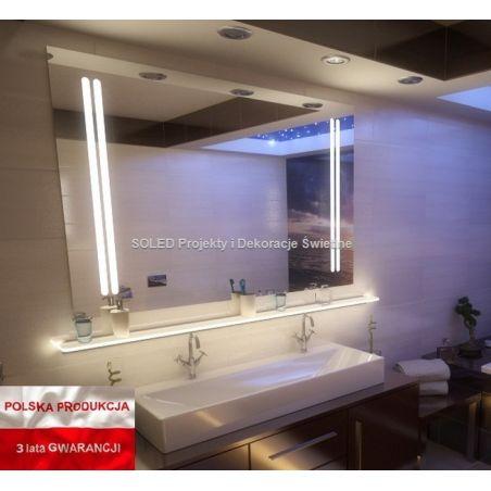 Lustro podświetlane LED MARIA 60x80cm PION