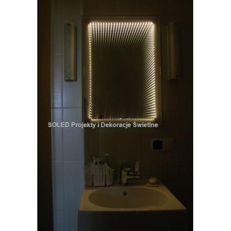 Lustro 3D LED Infinity 90x70cm