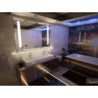 Lustro podświetlane LED ANNA 80x60cm POZIOM