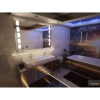 Lustro podświetlane LED AGNIESZKA 80x90cm PION