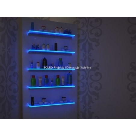Regały drogeryjne LED RGB Shelf-3 na pilot