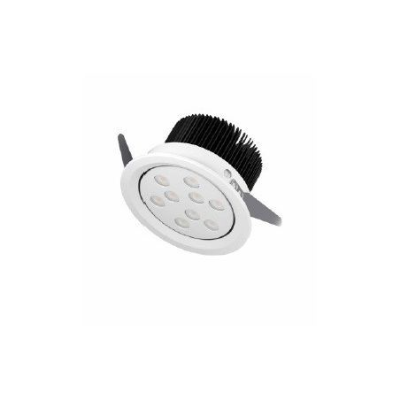 Oprawa downlight 12W ECO LED 4000K chrom mat