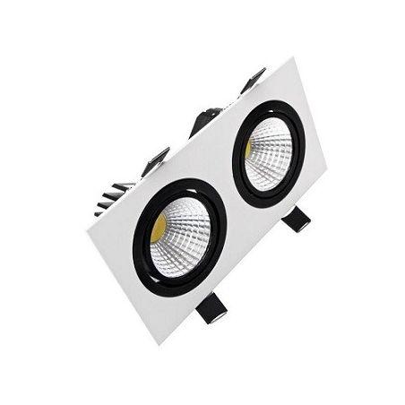LED DOWNLIGHT CARO 2x10W/1370lm 4000K