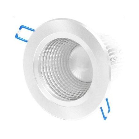 LED DOWNLIGHT DEEP 7W/560lm 4000 SILVER