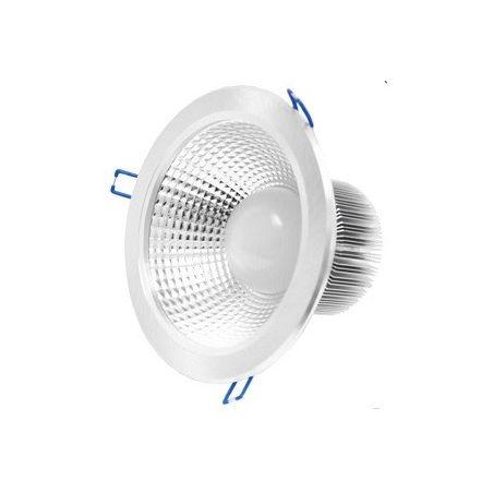 LED DOWNLIGHT DEEP 20W/1600l 4000 SILVER
