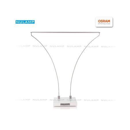 Lampa biurkowa LED NULAMP B WHITE 8,3W, 880lm, 4000K, Ra80