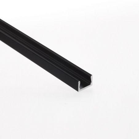 Profil aluminiowy MICRO - ALU anodowany na kolor czarny 1m