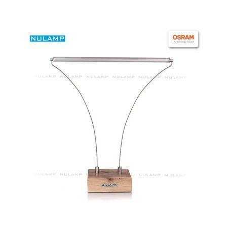 Lampa biurkowa LED NULAMP B ORZECH 8,3W, 790lm, 3000K, Ra80
