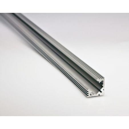 Profil aluminiowy LED 45 - ALU nieanodowany 1m