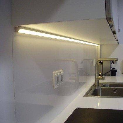 Jak uzyskać jednolitą linię światła?